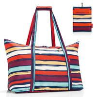 Сумка складная Mini maxi travelbag artist stripes, Reisenthel